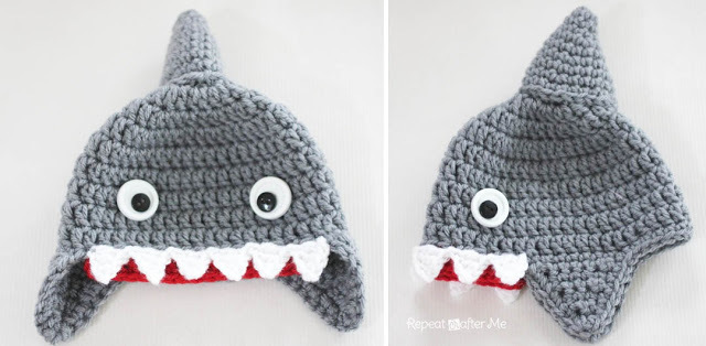 Chum the shark amigurumi pattern - Amigurumipatterns.net | 314x640