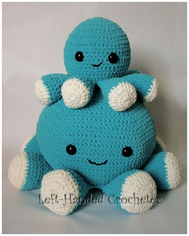 Giant Squishy Octopus Interesting Octopus Crochet Pattern