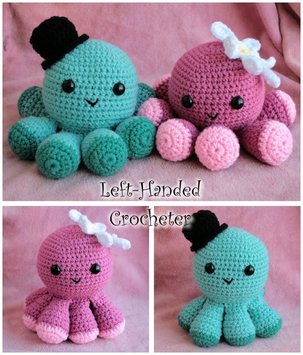 Octopus Frenzy Inspiration Octopus Crochet Pattern