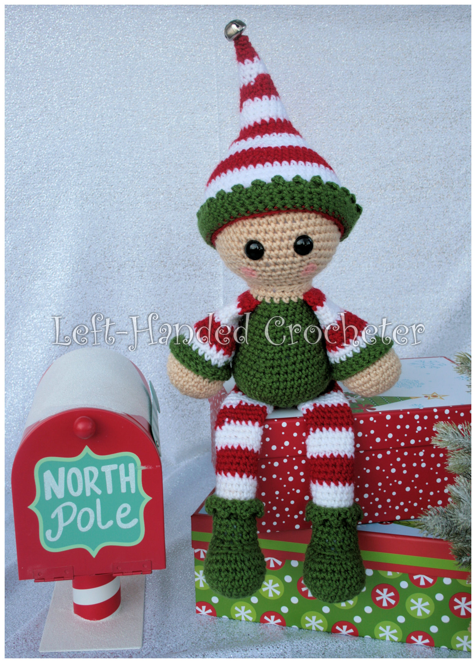 Elf Draft Stopper And Shelf Sitter