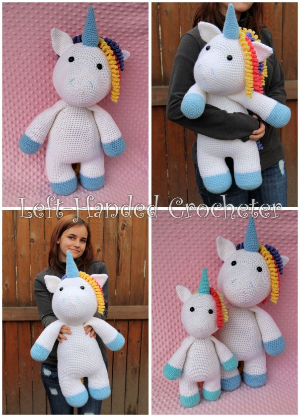 The Most Adorable Unicorn Crochet Patterns - Once Upon a Cheerio | 840x604