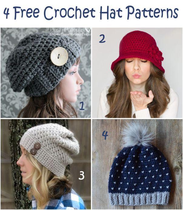 feba43bea73 Elegant Slouchy Hat by Posh Patterns ...